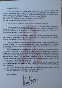 scrisoare Iantu