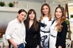 Oana Plesan (co-owner Fior Di Latte), Tatiana Ernuteanu (PR Specialist), Ligia Munteanu (TVR), Cristina Soare (TVR)