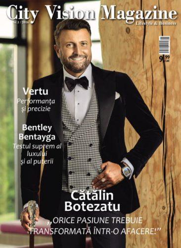 Coperta City Vision Magazine