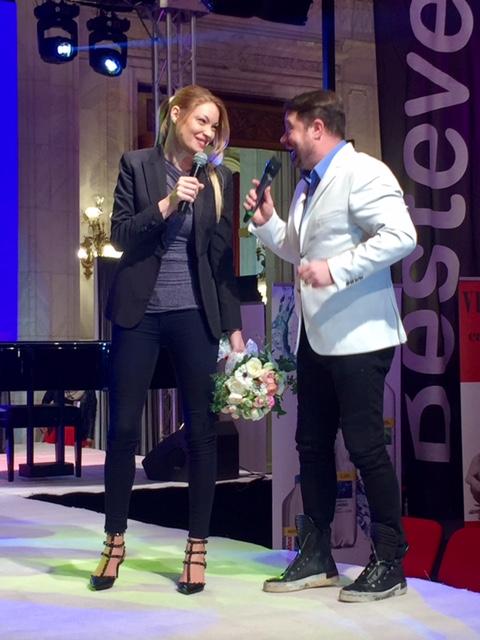 Valentina Pelinel și Andrei Duban