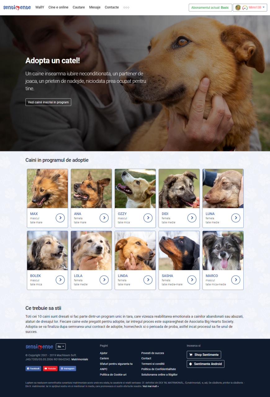 Site ul de dating pentru proprietarii de caini)